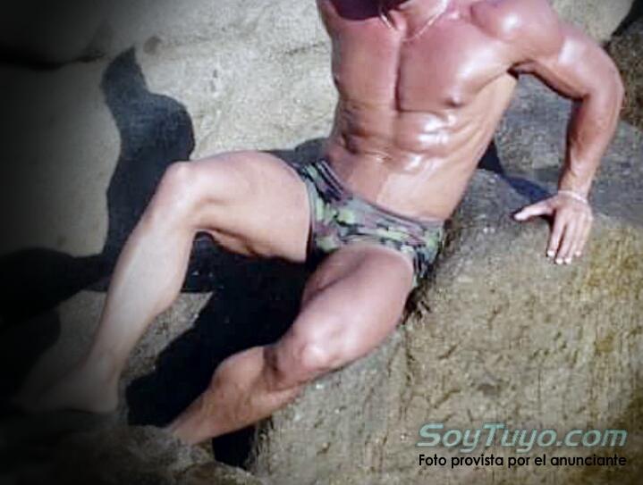 muscular masajistas y acompañantes